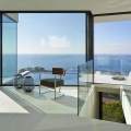 Modern Hillside Coastal Home In Spain With Magnificent Ocean View