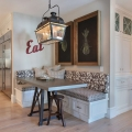 Kitchen Eating Area Bench Seating Ideas