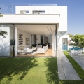 Modern Family Home In Israel Seamlessly Connects With The Outdoors
