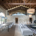 An Ancient Stone Manor Transformed Into A Rustic Contemporary Country House