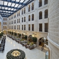 Waldorf Astoria Jerusalem Hotel: A Mix of Contemporary Elegance and Eclectic Architecture