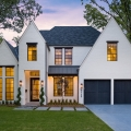 Distinguished Suburban New Built Custom Dream Home in Dallas