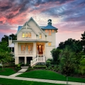 Classic Lowcountry Cottage Style House with Elevated Foundation