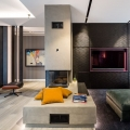 Stylish Duplex Apartment in Milan with Custom-Made Elements