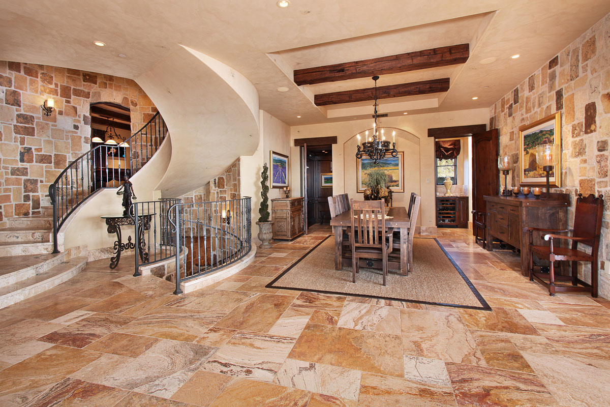 Tuscan Style Homes Interior Tuscan Style Luxury Interior