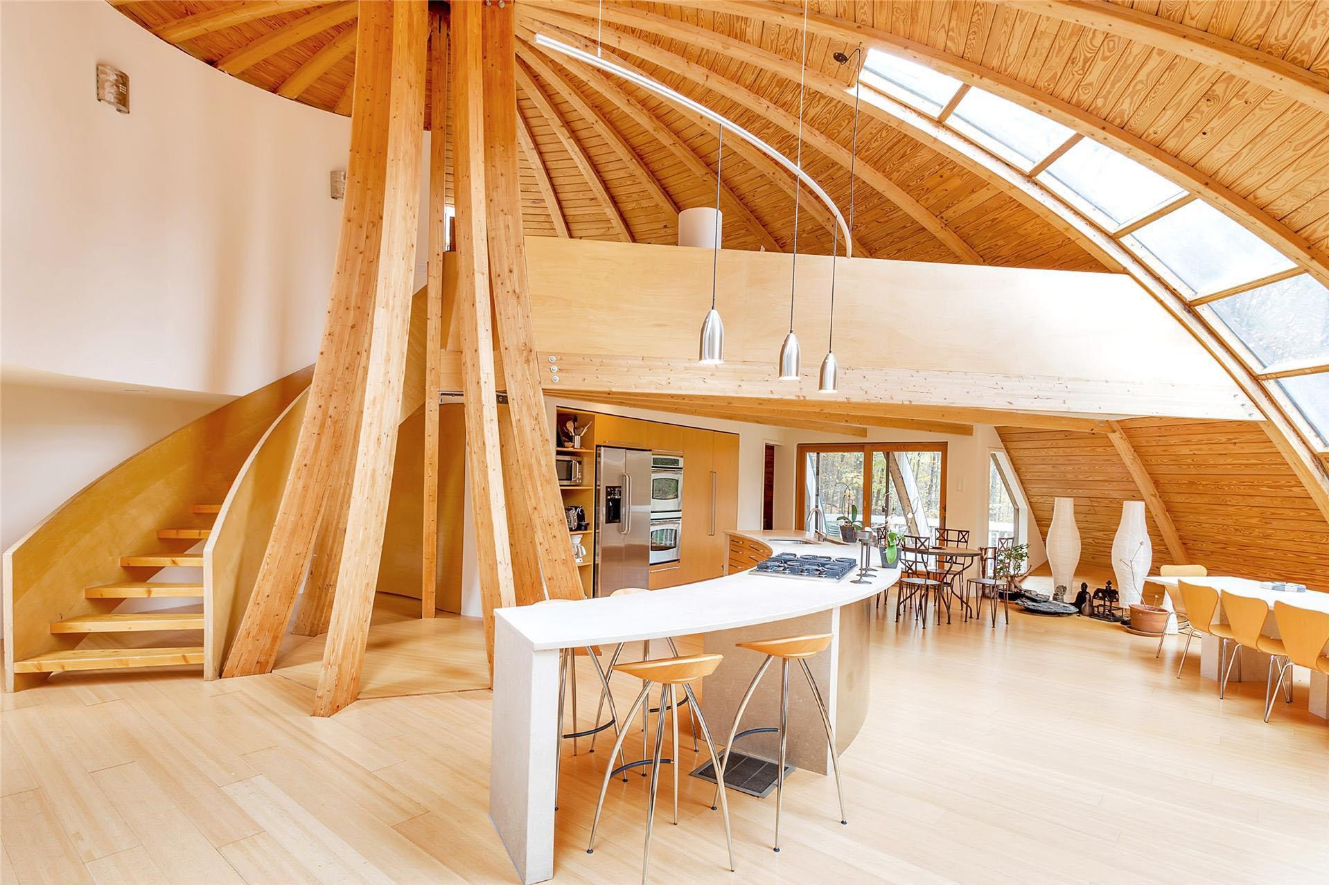 Interior design dome home - 116 Canaan Road Dome Home_7