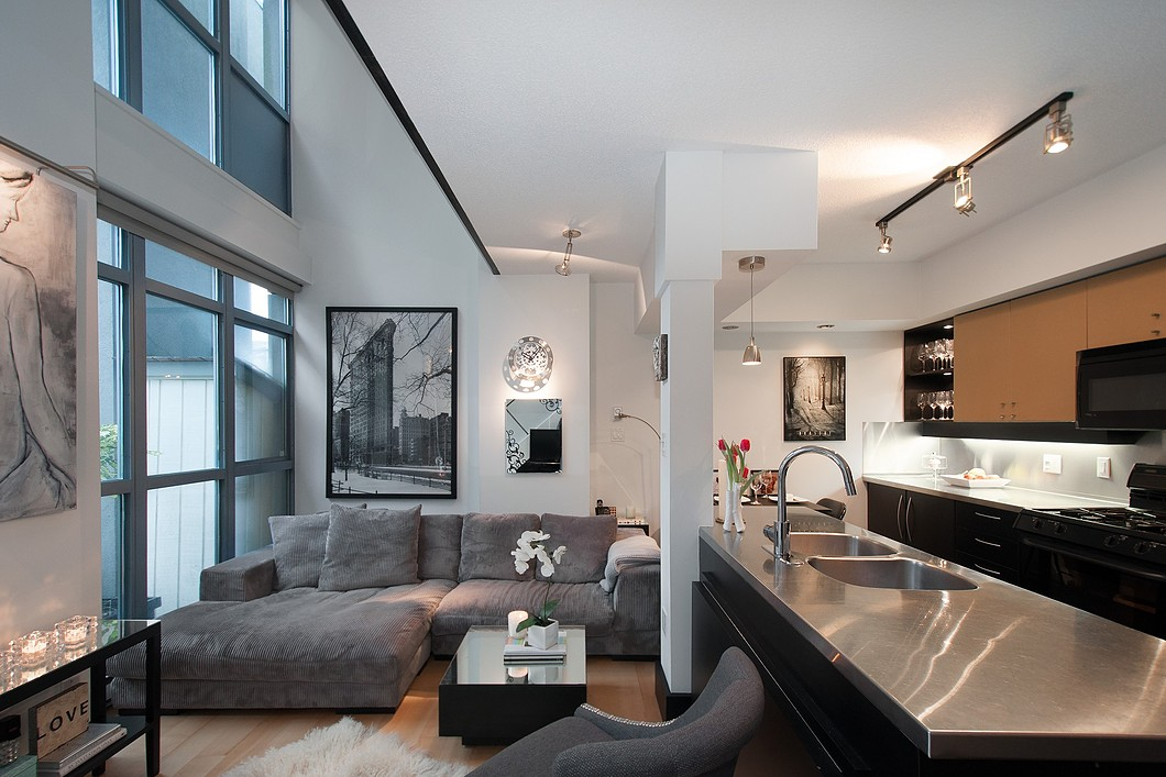 Cool Loft Apartment cool yaletown loft in vancouver | idesignarch | interior design