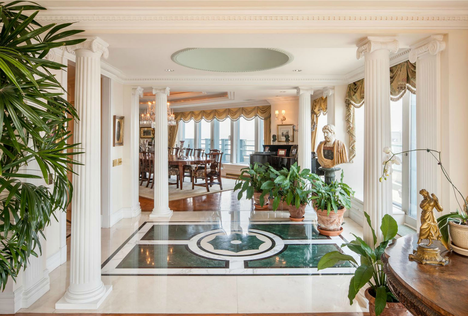 One of the most expensive penthouses in manhattan idesignarch interior de - Decoration romaine antique ...
