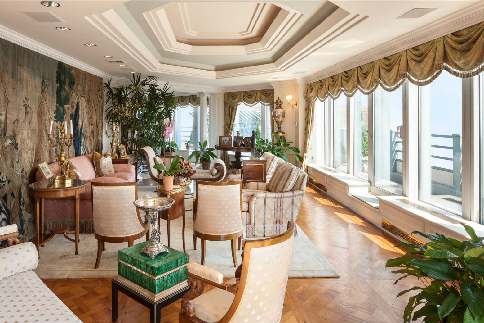 One of the most expensive penthouses in manhattan for Expensive penthouses in nyc