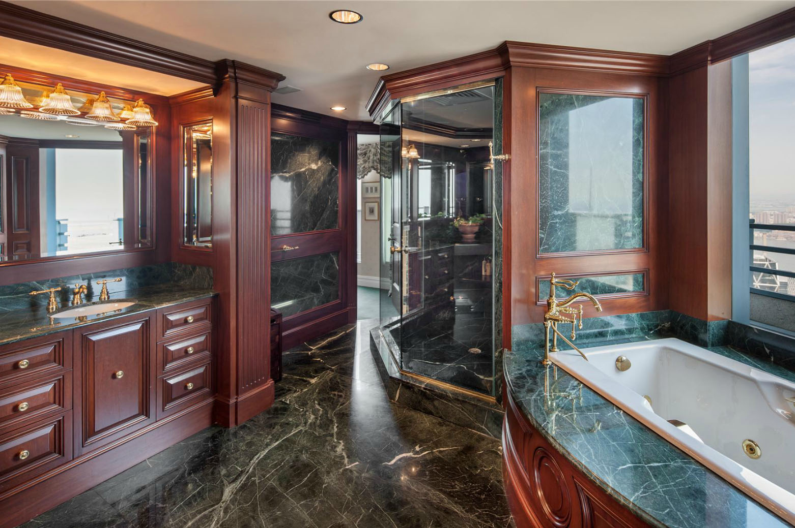 One of the most expensive penthouses in manhattan for Bathrooms in nyc