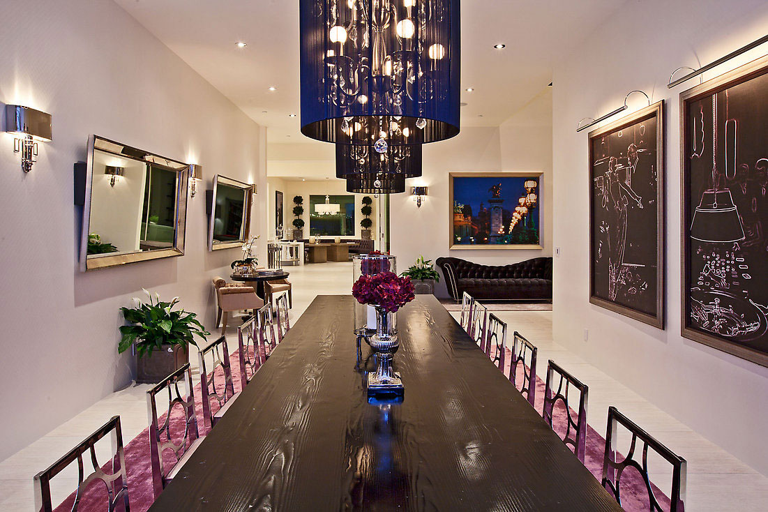 Glamorous contemporary living in los angeles idesignarch - Casas elegantes y modernas ...