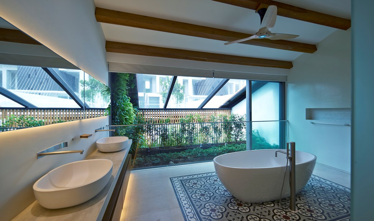 Singapore Renovated Home Converted From Shophouse | iDesignArch ...
