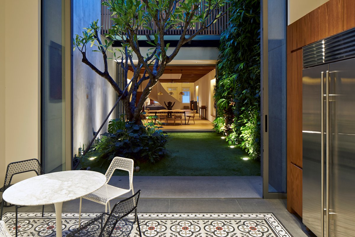 Singapore Renovated Home Converted From Shophouse ...