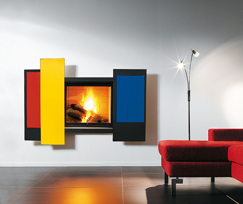 Fire and art idesignarch interior design architecture - Chimenea de decoracion ...
