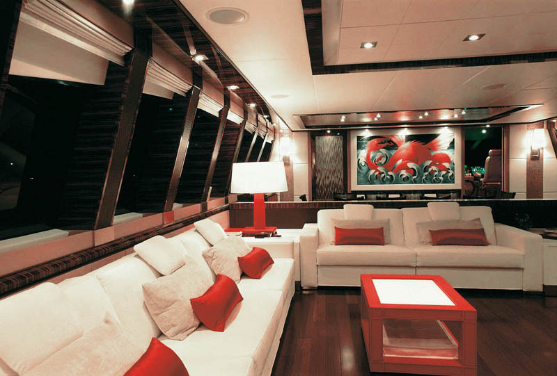 Luxury Yacht Dragon Interiors The Interior Design Of Palmer Johnsons