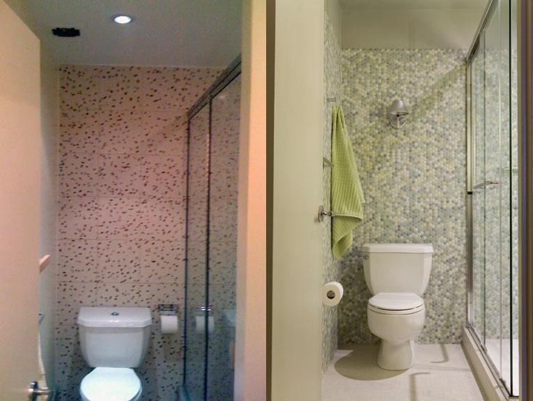 bathroom before after interior design