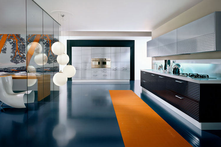 Luxury modern kitchens by pedini idesignarch interior for Luxury contemporary kitchens