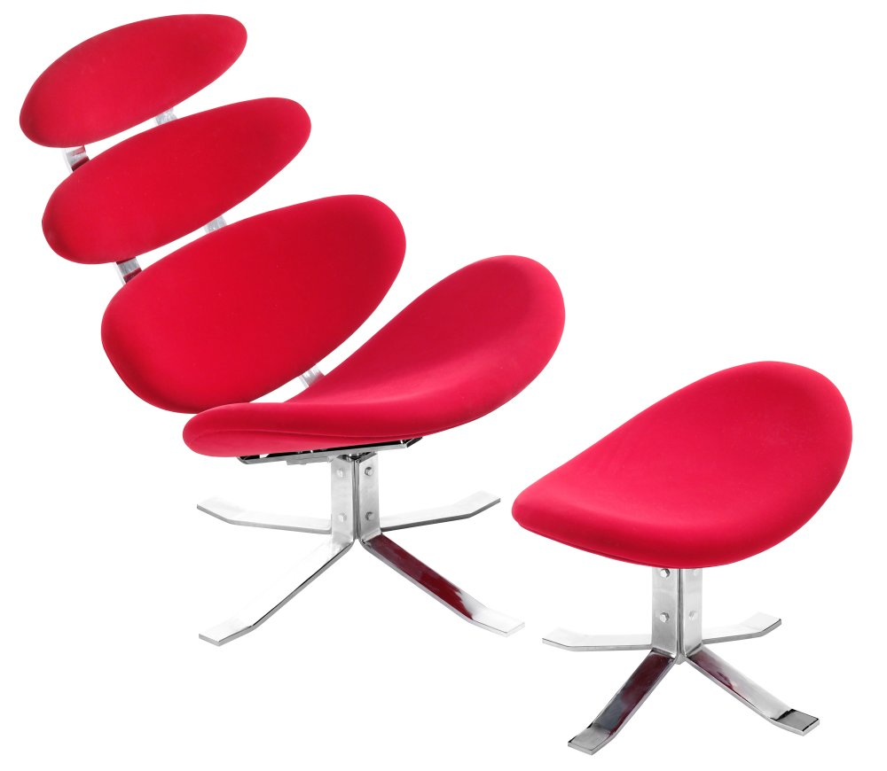 Trendsetting petal lounge chair by zuo modern for Modern chair design