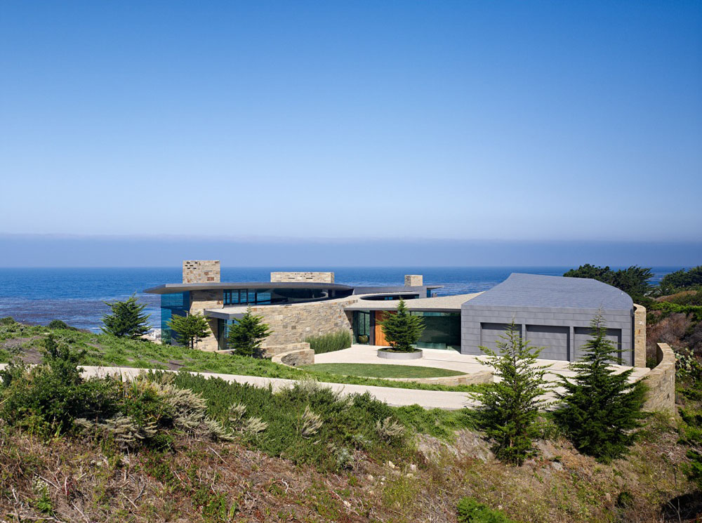 Ocean front residence in carmel california idesignarch for The view house
