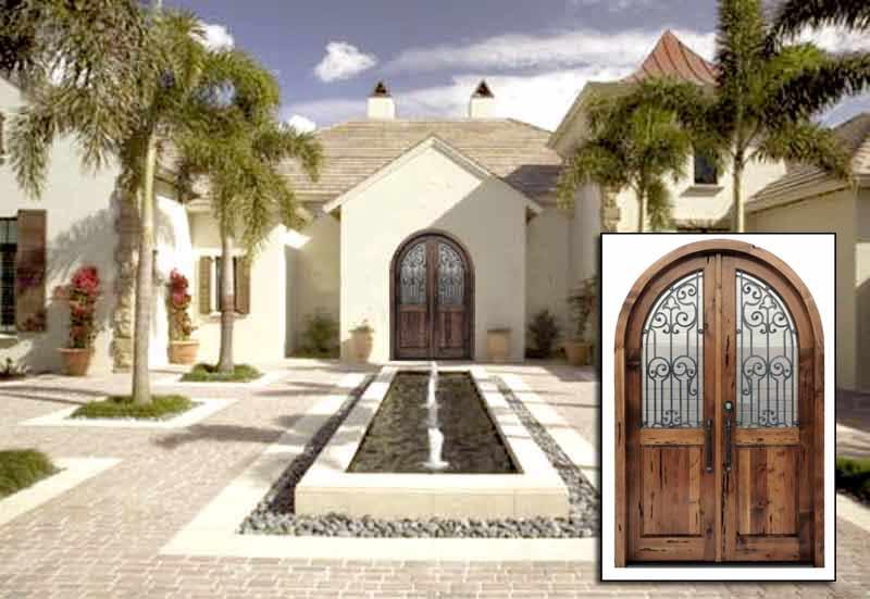 Historical Design Handcrafted Solid Wood Doors