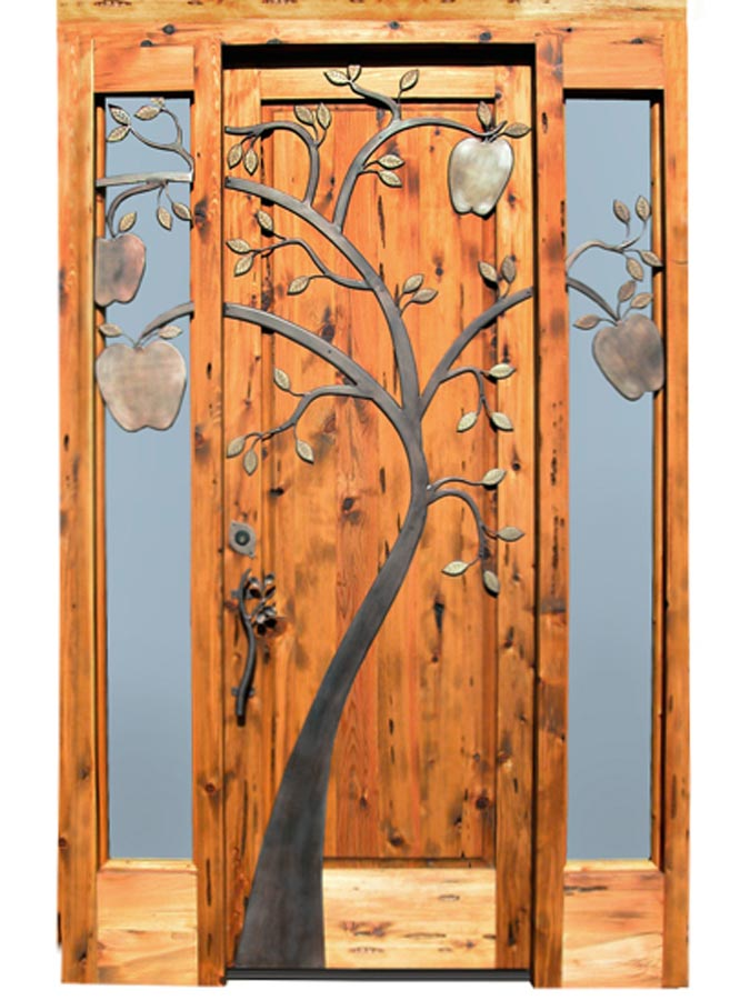 Historical design handcrafted solid wood doors for Wood door design latest