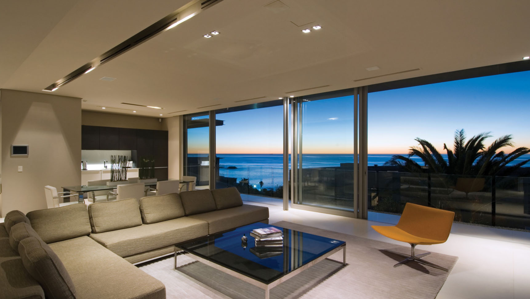 Beautiful Modern Living Rooms Of Minimalist Ocean View Home In South Africa Idesignarch