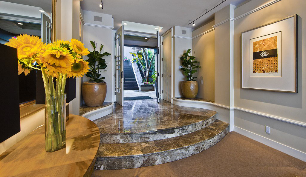 Marble Foyer