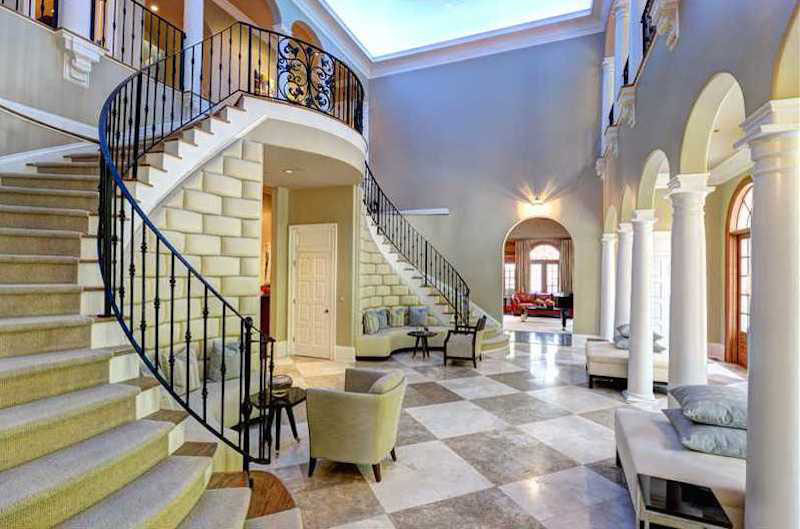 Luxury Estate Grand Entrance Lobby