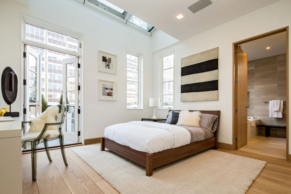 New York Apartment Bedroom