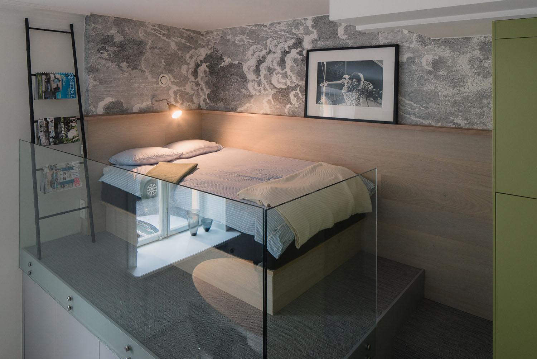 Small Studio Apartment In Stockholm With Sleeping Loft Idesignarch Interior Design