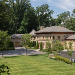 Riverfront Limestone Estate Inspired By Spanish Aragon Architecture