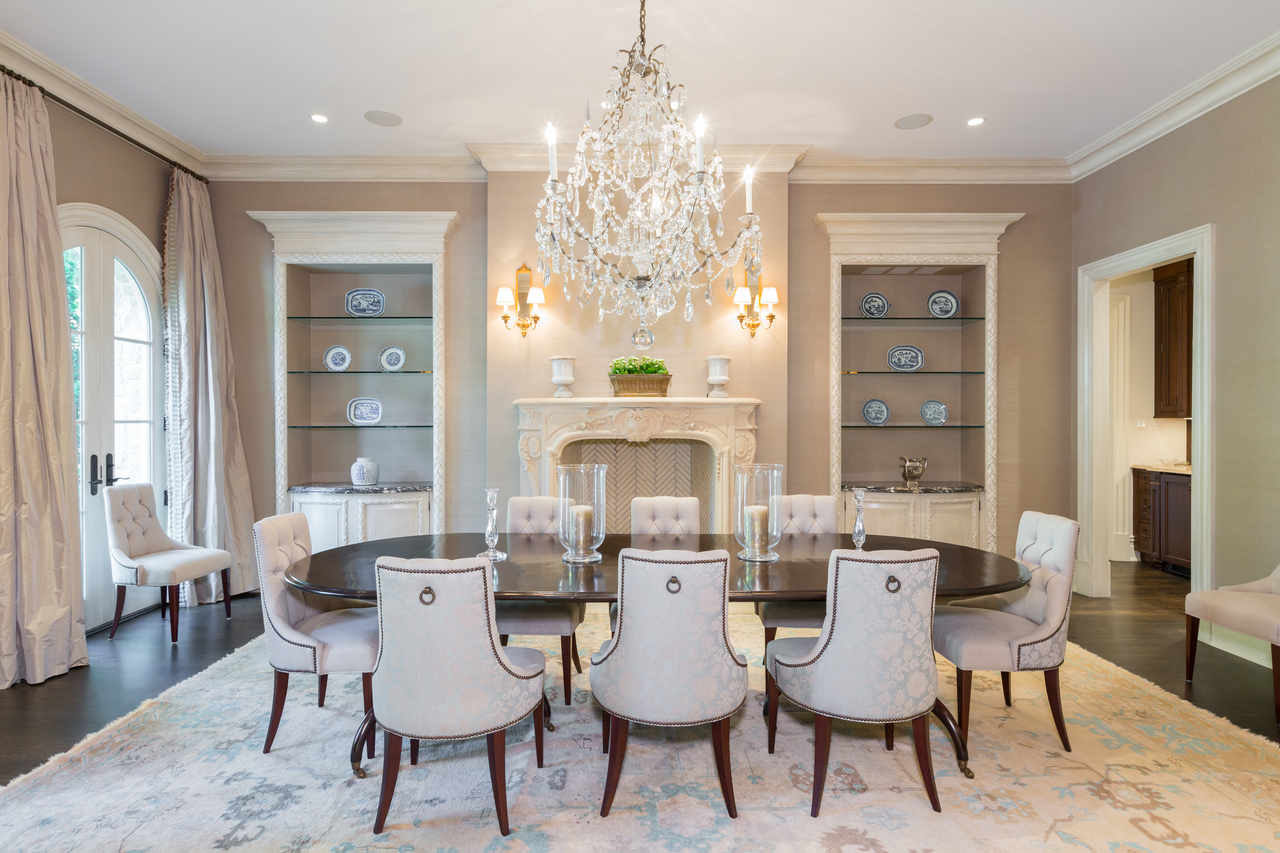 Elegant Estate Dining Room
