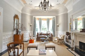 Elegant Beacon Hill Formal Parlor with Contemporary Refresh