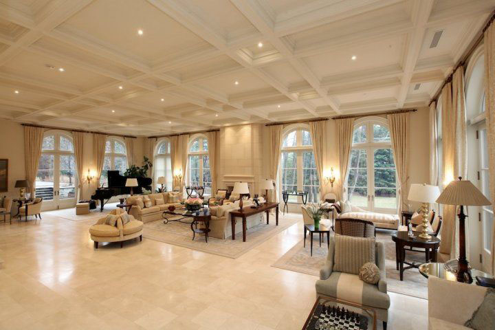 Exquisite Mega Mansion In Toronto Idesignarch Interior