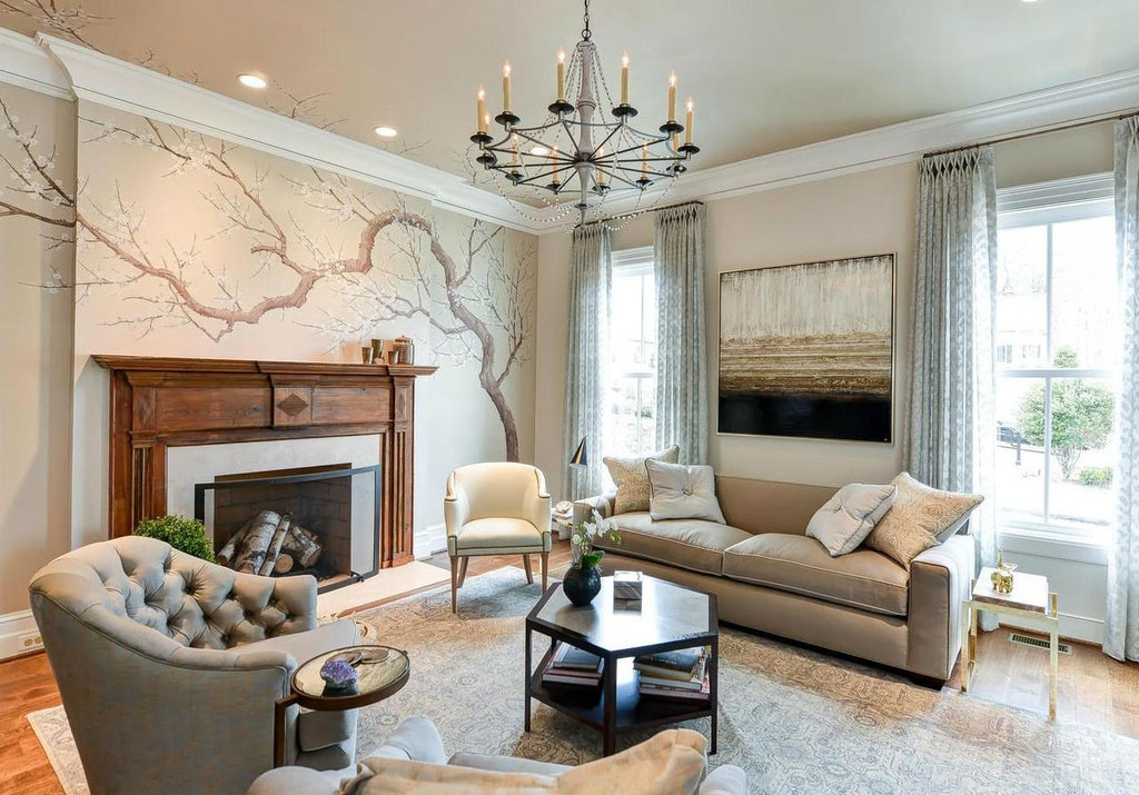 Decorating New Home Elegant Old American Farmhouse Style Mansion IDesignArch