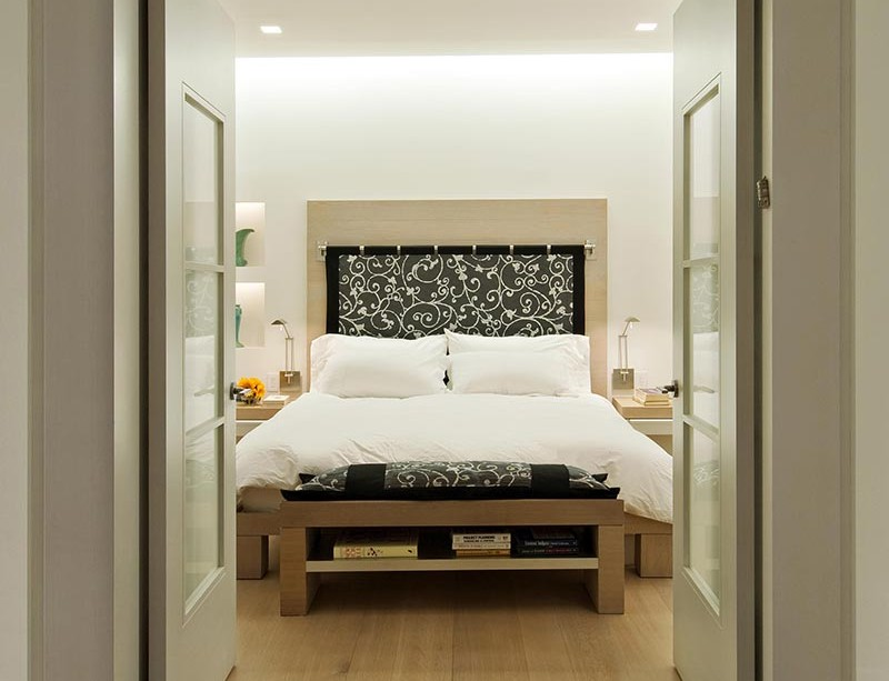 Chic Modern Master Bedroom