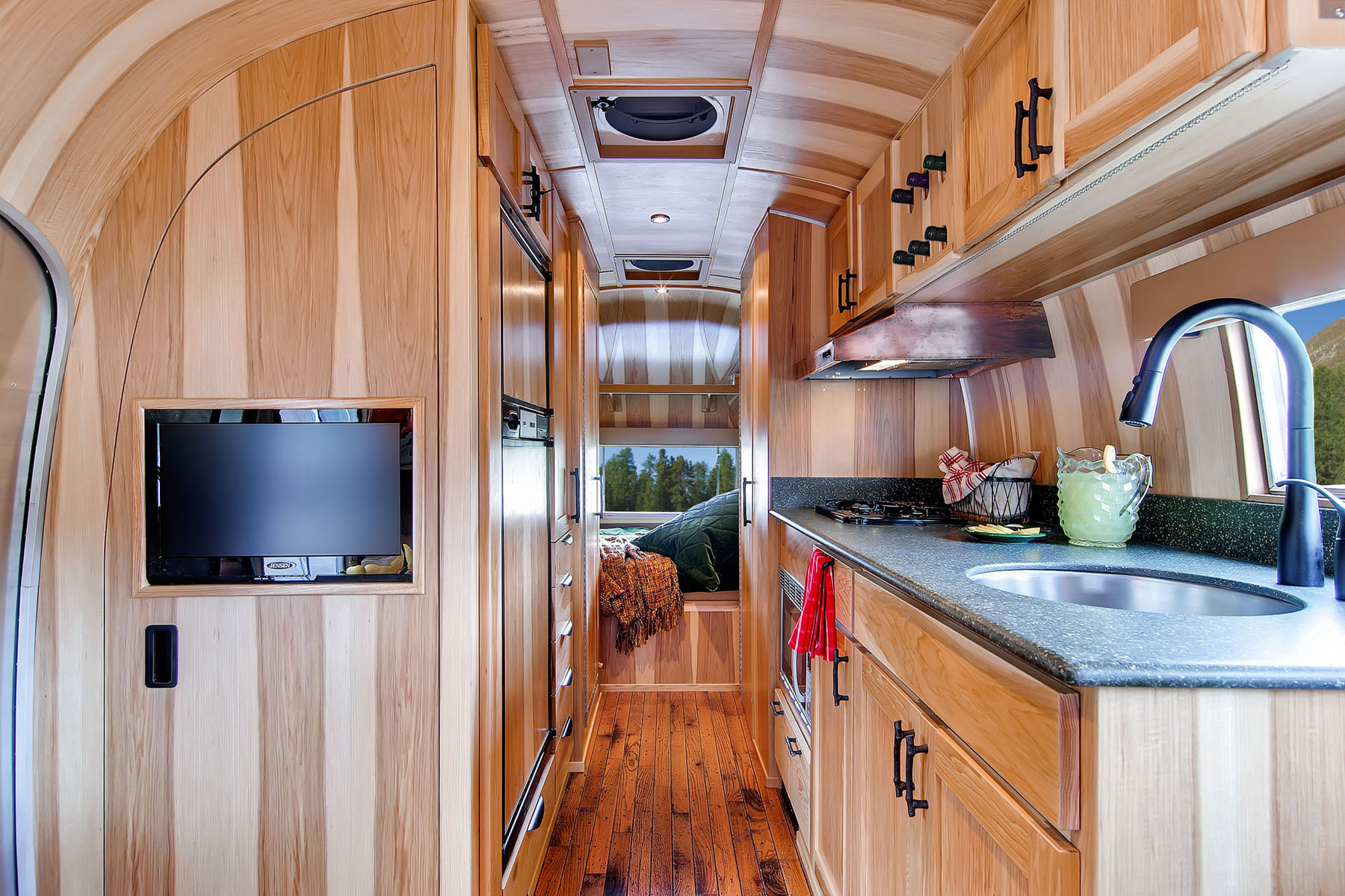 Restored Airstream Travel Trailer