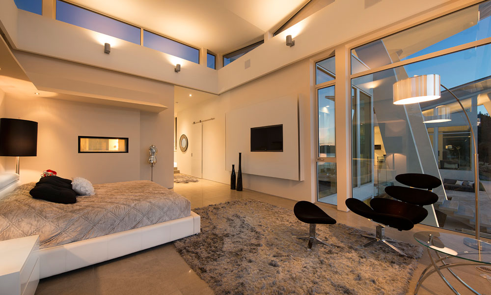 Okanagan lake waterfront home with minimalist elegant design idesignarch interior design - Ultra modern bedrooms for girls ...