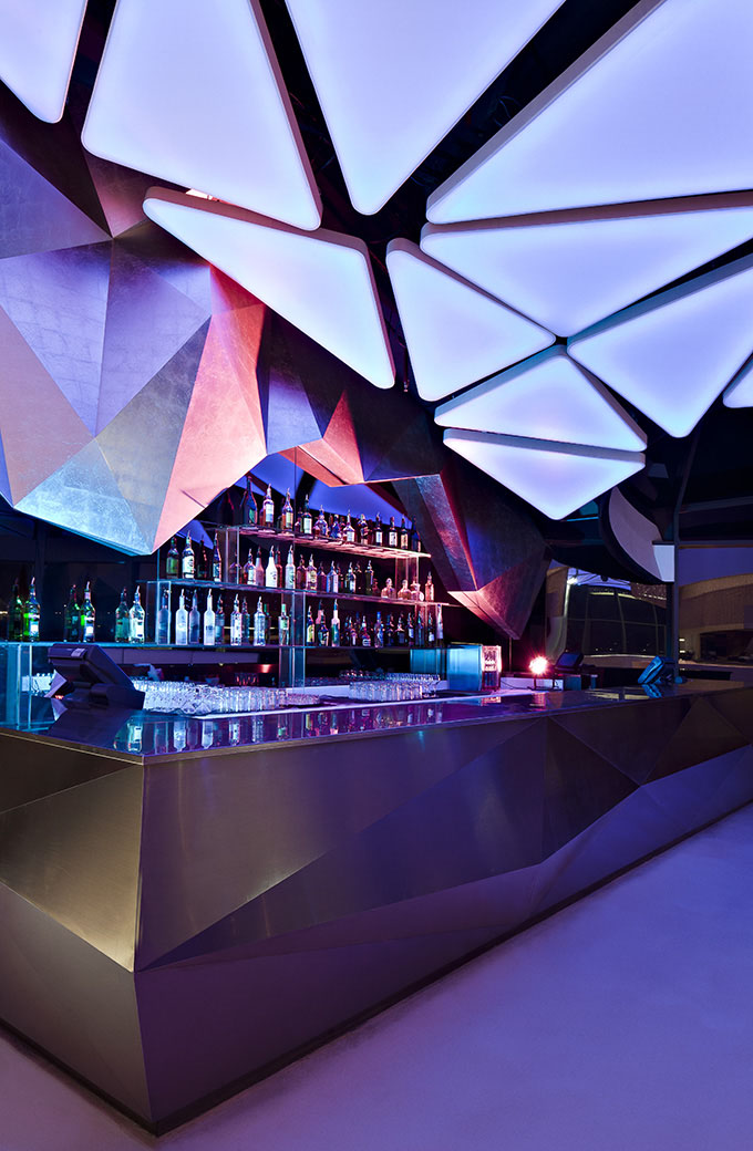 Allure nightclub in abu dhabi idesignarch interior for Design restaurants club