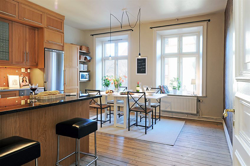 Beautiful Apartment Interior Design In Sweden | iDesignArch ...