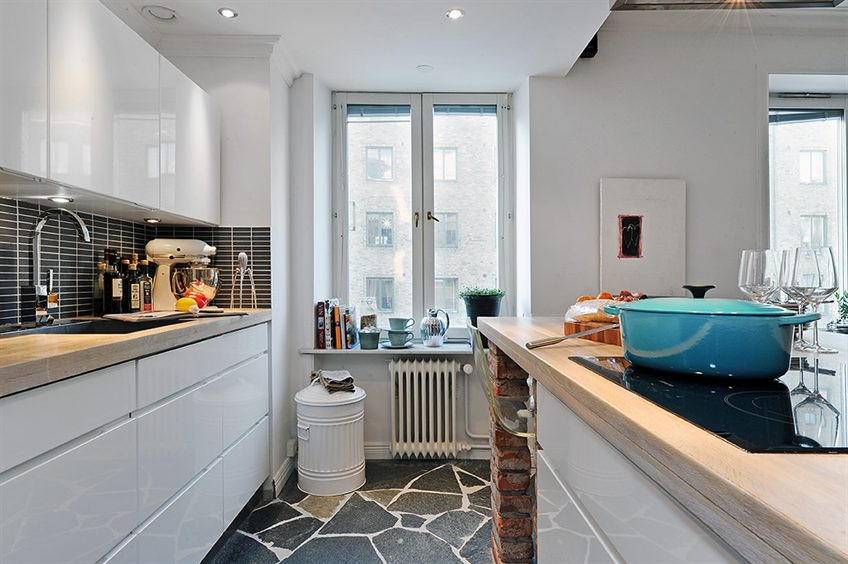 Swedish Apartment Design small yet tastefully decorated apartment in sweden | idesignarch