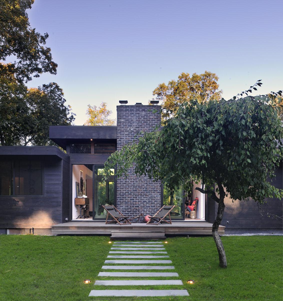 Long Island Rustic Modernist Beach House Idesignarch
