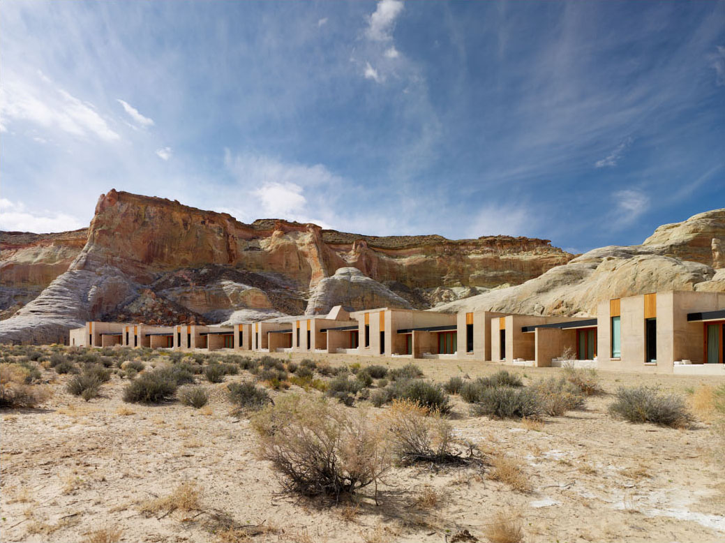 amangiri resort dramatic escape in utah idesignarch