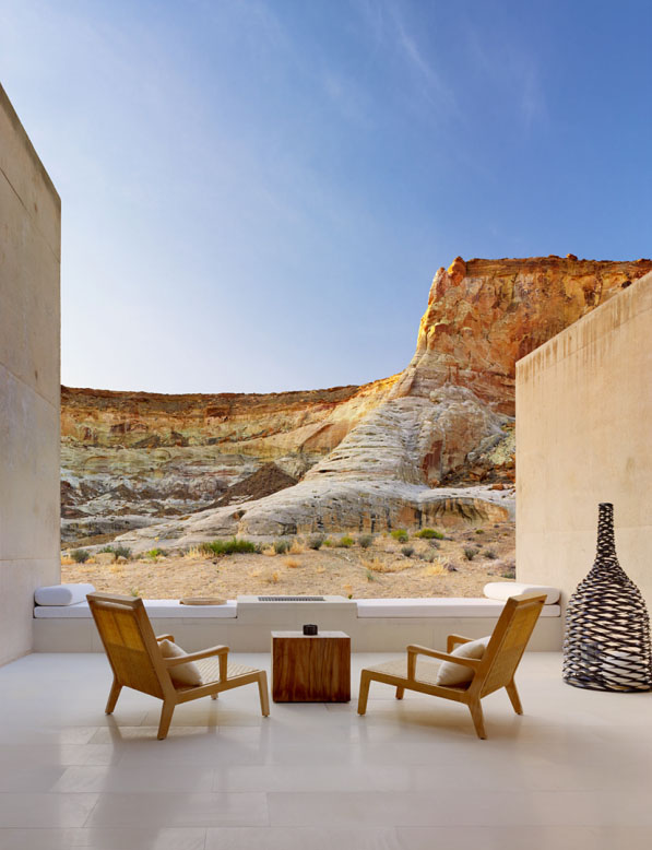 Amangiri resort dramatic escape in utah idesignarch for Design hotel utah
