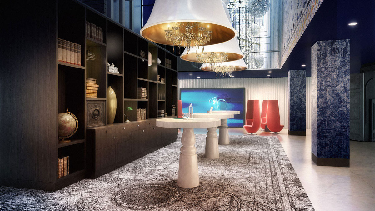 The whimsical interiors of andaz amsterdam prinsengracht for Design hotel amsterdam