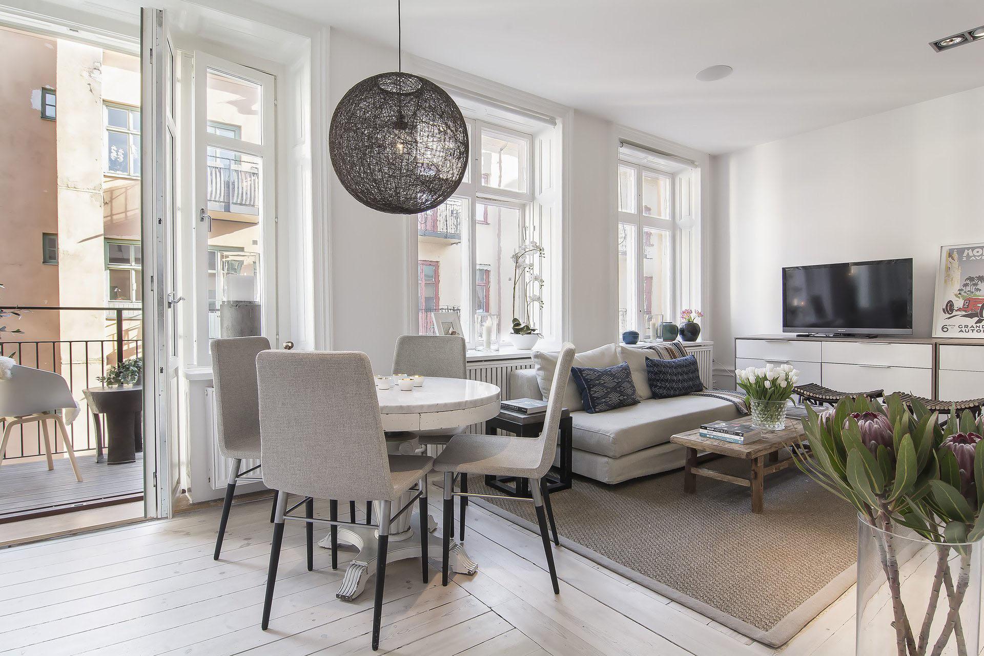 Modern Apartment in Stockholm Sweden