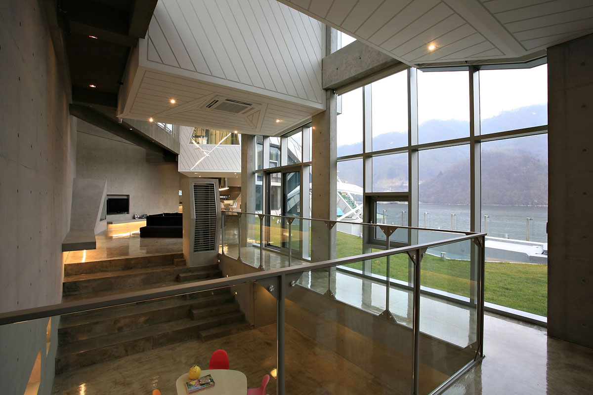 Architectural island house in south korea idesignarch for Modern house korea