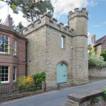 Gothic Revival Style Castle Tower Converted To Charming Two-Bedroom Home