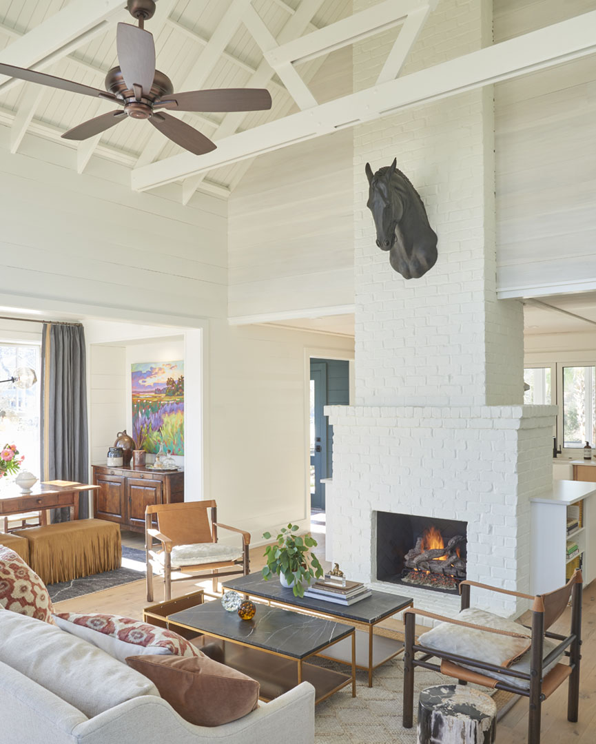 Breezy Lowcountry Home: Charming Lowcountry Village Cottage Surrounded By Lush Landscape