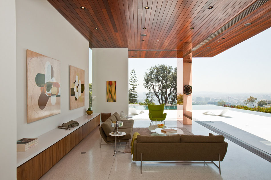 Modernist House In Hollywood Hills Idesignarch